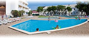 детский открытый бассейн