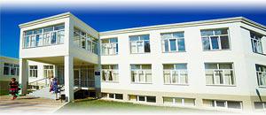 лечебный корпус санатория