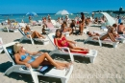 Пляж Анапы (песочный, в 800 м от санатория)