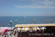 Пляж, кафе