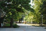 Парк санатория Малая Бухта, Анапа