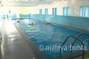Крытый бассейн в лечебном корпусе
